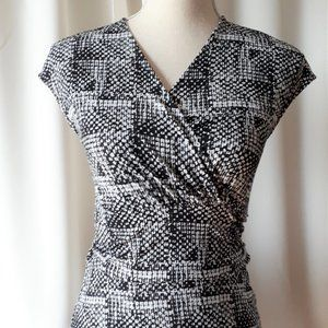 *2/$14* Just Fab Crossover Front Dress Sz XS